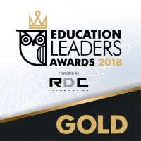 Education leaders awards 2018 -GOLD